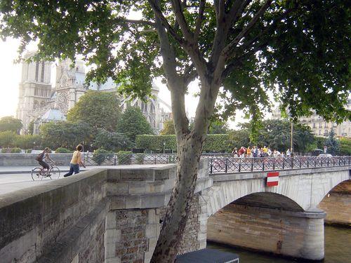 012 Pont de L'Archevech Paris 2004