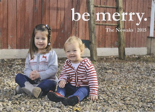 Christmas Card Front SM